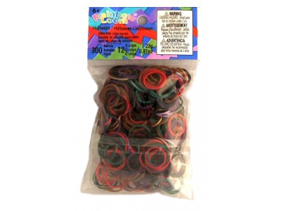 Rainbow Loom bandjes mix Halloween  (600 stuks)