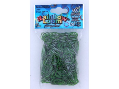Rainbow Loom Bands Medieval Lime