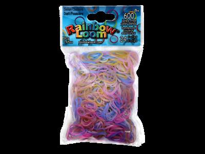 Rainbow Loom bandjes UV Solar DUST (600 stuks)