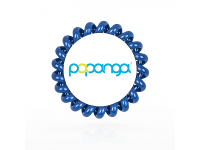 Papanga Haarelastiek Denimblauw BIG