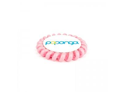 Papanga haarelastiek licht roze BIG